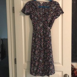 Maison Jules size small wrap around dress.